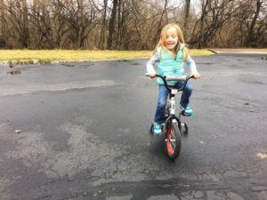 ABC Pediatric Therapy Riding bike with trainning wheels